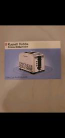 Brand new russell hobbs emma bridgewater 2 slice toaster
