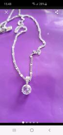 Swarovski solitaire pendant necklace