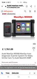 AUTEL maxi 908