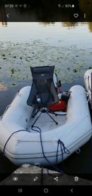 Inflatable boat jago 320