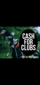 Golf equipment WANTED Glasgow/paisley surrounding area