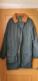 "New Beaver of Bolton shooting coat - 40"" or medium"