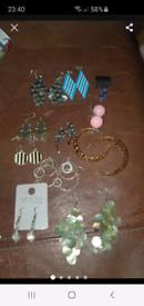 Joblot earrings