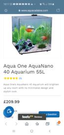 Aqua one nano 55litres