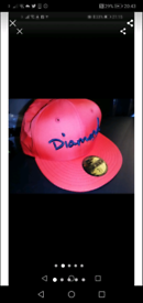 Diamond Supply Fitted Cap RARE Size 7 3/8