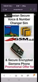 Secure phone & number changing sim