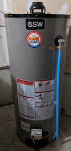 GSW 60 gallon conventional gas water heater tank
