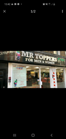 Mr Toppers london