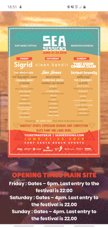 SEA SESSIONS 4 DAY | in Banbridge, County Down | Gumtree