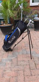 Used starter kids golf club set⛳🏌♀️with Rookie Bag