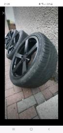 Fox motorsport 19inch alloy wheels 5x112 mercedes volkswagen audi seat