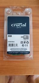 Crucial 16GB RAM 2400 MHZ 2 X 8 GB STICKS