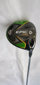 Callaway epic flash sub zero draw driver (tourvan shaft)