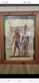 Large egyptian picture in Frame