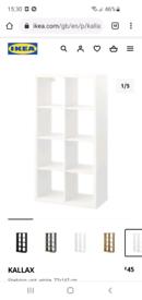 Ikea Kallax unit white