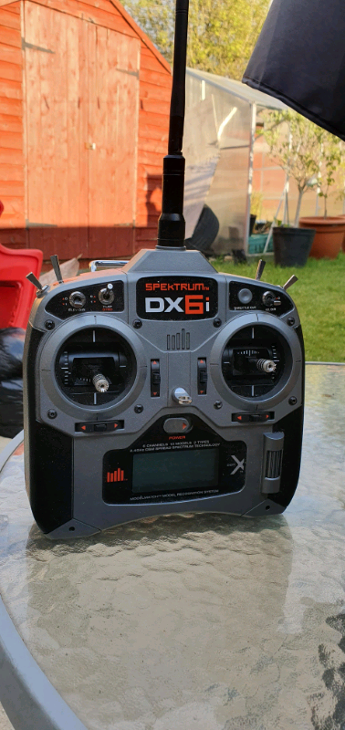 Spektrum dx6i radio rc controller dsmx 6 channel   in Leicester,  Leicestershire   Gumtree