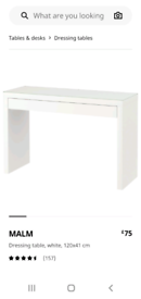 Ikea dressing table or computer desk
