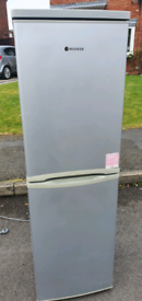 Silver fridge freezer _ free delivery