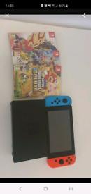 Nintendo switch + 4 games