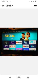 """TV with built in DVD 22"""" full HD 6 months Old"""