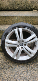 Wheels and tyres Seat Cupra