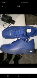 Nike Air force 1's size 1.5 childrens