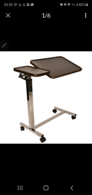 Fully adjustable laptop stand or over bed table