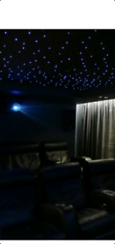 Led media lounge over 800 leds, projector,remote control for sale