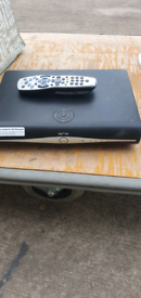 Sky + HD box and control