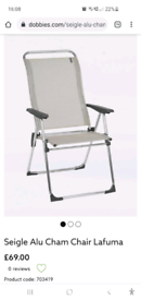 Brand New Seigle Alu Cham Chair (6 available)