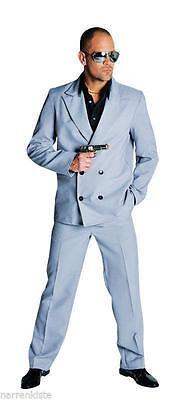 Anzug Kostüm Gangster Polizei Miami Vice FBI SWAT Mafia Personenschutz - Polizei Anzug Kostüm