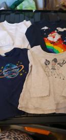 9 items Tops Bundle of girls 18 months - 2 years - NEXT/GAP/GEORGE/