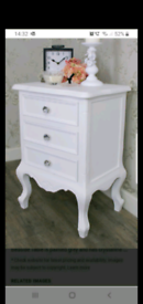 Fabulous Pair Of Bedside Drawers Brand New