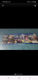 PS4 Games: Not used anymore in great condition.