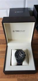Tag Heuer Carerra Titanium chronograph watch