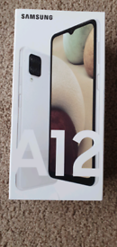 Samsung Galaxy A12 Mobile (White) - New, Sealed, Unlocked & Receipt