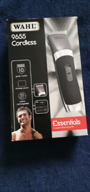 WAHL 9655 Cordless Essentials Complete Haircutting Kit - Brand new and