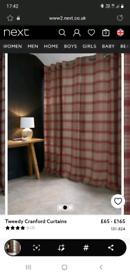 Tweedy crandford curtains from next.