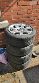 "17"" Bmw alloy wheels x4"