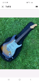 Fender Squier 1994 Stratocaster Guitar. Made in Cort Factory Korea