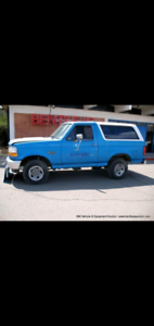 WANTED: Ford Bronco