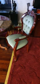 French dining table & chair's