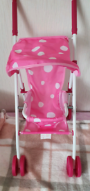 Kids toy bundle Dolls buggy,play tent,musical chair and desk and chair