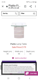 Lamp table ........pristine condition