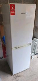 White fridge freezer _ free delivery