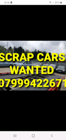 WE BUY SCRAP CARS VANS 07999422671