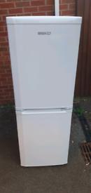 White Beko fridge freezer _ free delivery