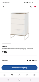 IKEA TRYSIL chest of drawers