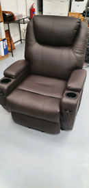 Electric massage reclining chair hardly used