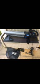 McAllister 3000w corded leaf blower,vac